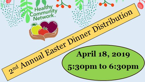 2nd Annual Easter Dinner Distribution
